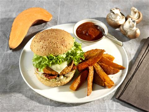 Burger Végé gourmand